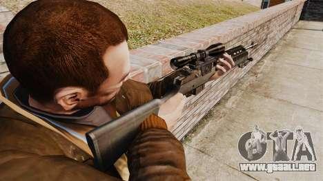 M21 sniper rifle v2 para GTA 4 segundos de pantalla