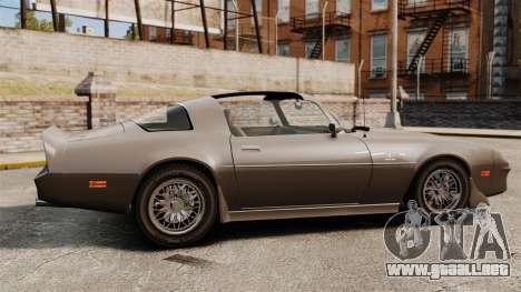 Imponte Phoenix 455 RS para GTA 4 left