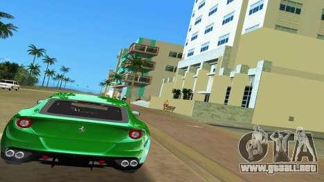 Ferrari FF 2011 para GTA Vice City visión correcta