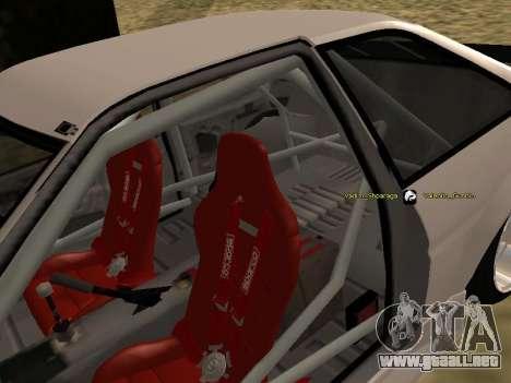 Toyota Corrola GTS JDM para vista lateral GTA San Andreas