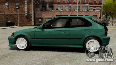 Honda Civic Al Sana para GTA 4 left