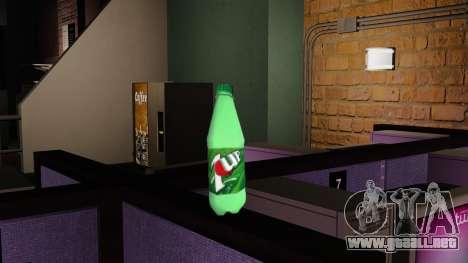 Beber de la botella de gaseosa 7UP para GTA 4 segundos de pantalla