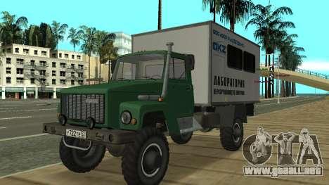 Avtolaboratoriâ GAZ 3309 Sadko para GTA San Andreas