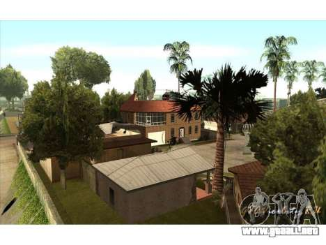 New CJ House para GTA San Andreas tercera pantalla