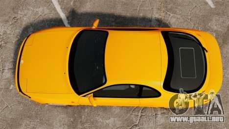Toyota Celica ST185 GT4 para GTA 4 visión correcta