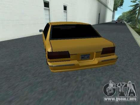 Premier para GTA San Andreas vista posterior izquierda