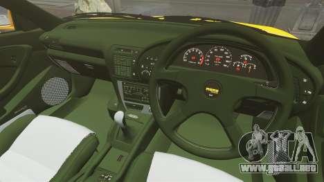 Toyota Celica ST185 GT4 para GTA 4 vista hacia atrás