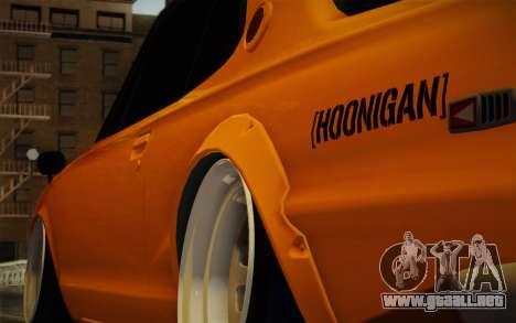 Nissan Skyline 2000GT-R Hoon para GTA San Andreas left