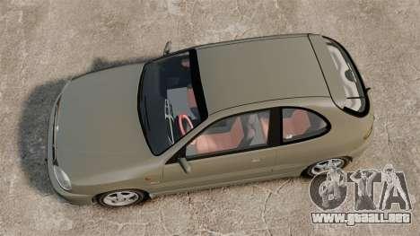 Daewoo Lanos Sport PL 2000 para GTA 4 visión correcta