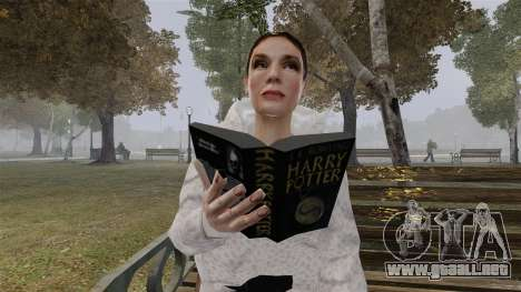 El libro de Harry Potter para GTA 4 segundos de pantalla