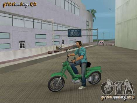 103Sp scooter para GTA Vice City