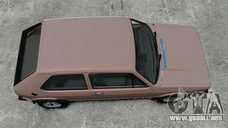Volkswagen Golf MK1 GTI para GTA 4 visión correcta