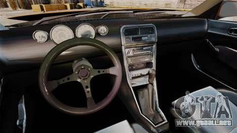 Honda Civic Gtaciyiz 2 para GTA 4 vista hacia atrás