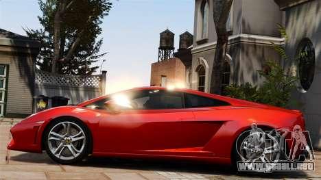Lamborghini Gallardo LP560-4 [Final] v1 para GTA 4 left