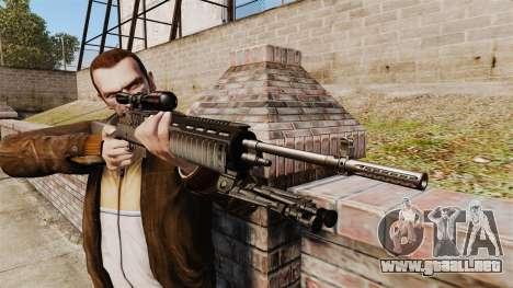 M21 sniper rifle v2 para GTA 4 tercera pantalla