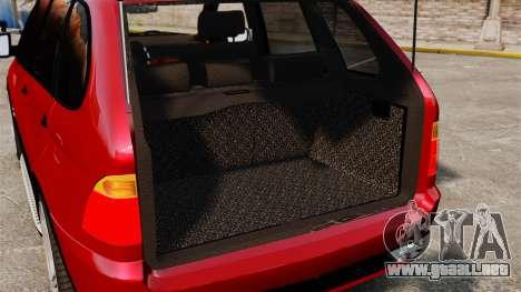 BMW X5 4.8iS v3 para GTA 4 vista lateral