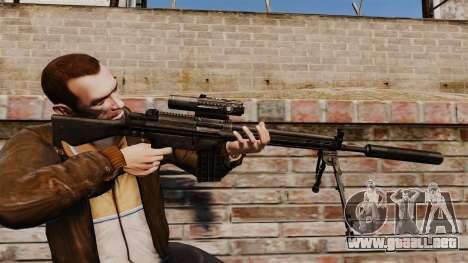HK G3SG1 sniper rifle v1 para GTA 4