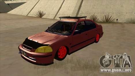 Honda Civic V2 BKModifiye para GTA San Andreas