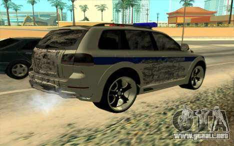 Volkswagen Touareg R50 para la vista superior GTA San Andreas