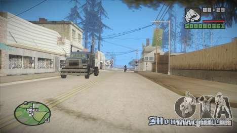 GTA HD Mod para GTA San Andreas sexta pantalla
