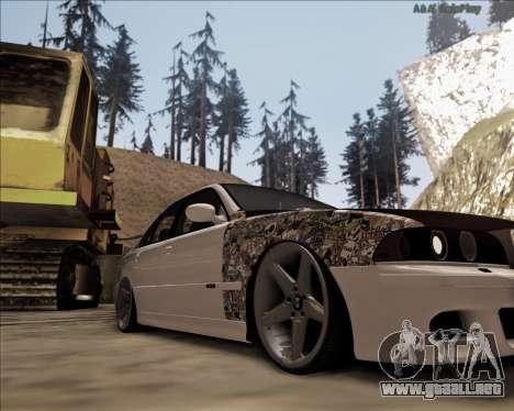 BMW M5 E39 Stanced para GTA San Andreas left
