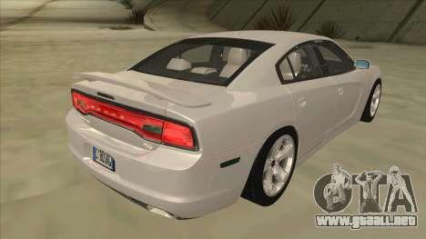 Dodge Charger RT 2011 V2.0 para la visión correcta GTA San Andreas