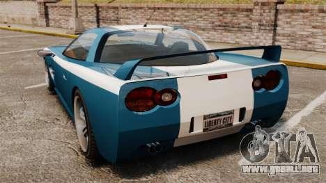 Coquette M para GTA 4 Vista posterior izquierda