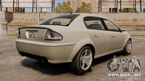 Premier en calzado nuevo para GTA 4 Vista posterior izquierda