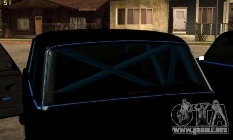 VAZ 2107 para la vista superior GTA San Andreas