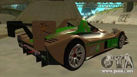 Radical SR8 RX para la visión correcta GTA San Andreas