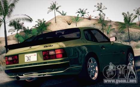 Porsche 944 Turbo Coupe 1985 para GTA San Andreas left