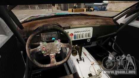 BMW Z4 M Coupe GT Miku para GTA 4 Vista posterior izquierda