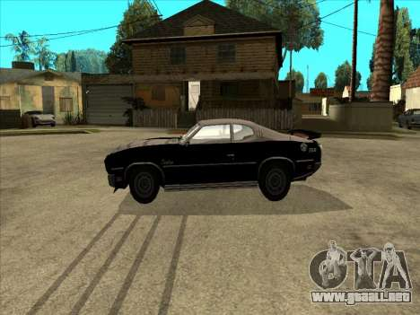 Remington para GTA San Andreas left