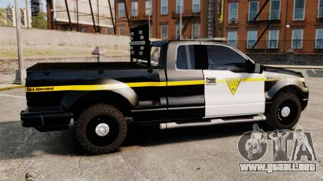 Ford F-150 v3.3 State Trooper [ELS & EPM] v1 para GTA 4 left