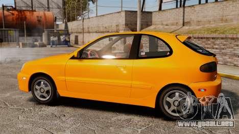 Daewoo Lanos Sport US 2001 para GTA 4 left