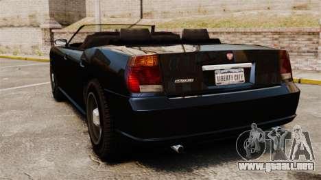Limusina de Buffalo para GTA 4 Vista posterior izquierda