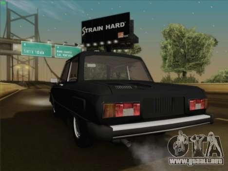 ZAZ 968 para la visión correcta GTA San Andreas