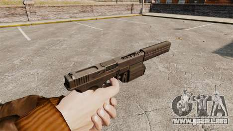 Táctica de la pistola Glock 18 v2 para GTA 4 segundos de pantalla