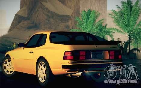 Porsche 944 Turbo Coupe 1985 para la visión correcta GTA San Andreas
