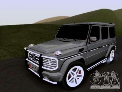 Mercedes-Benz G55 AMG para vista lateral GTA San Andreas