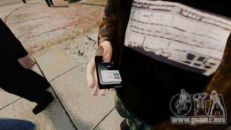 Reproductor de MP3 actualizado para GTA 4 segundos de pantalla