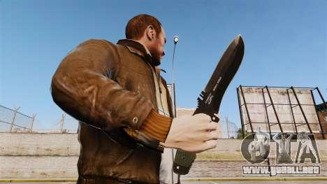 Cuchillo táctico v3 para GTA 4