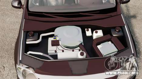 Dacia Logan 2008 v2.0 para GTA 4 vista interior