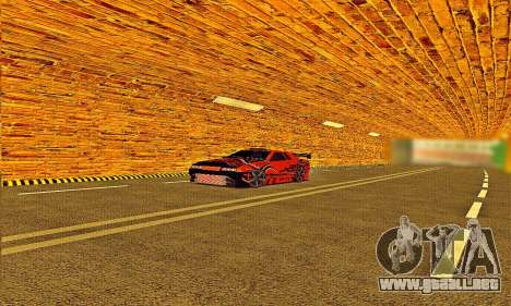 Elegy Sport para GTA San Andreas vista posterior izquierda