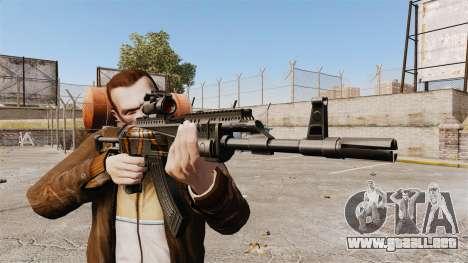 AK-47 para GTA 4 tercera pantalla