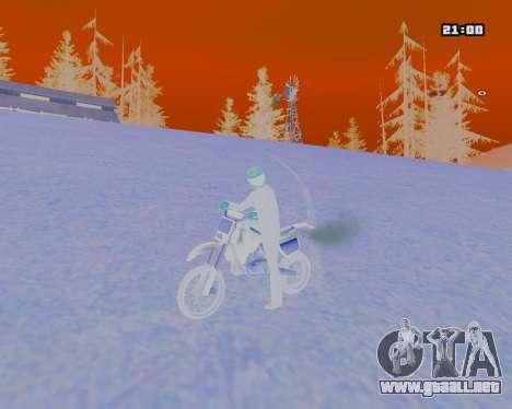 White NarcomaniX Colormode para GTA San Andreas tercera pantalla