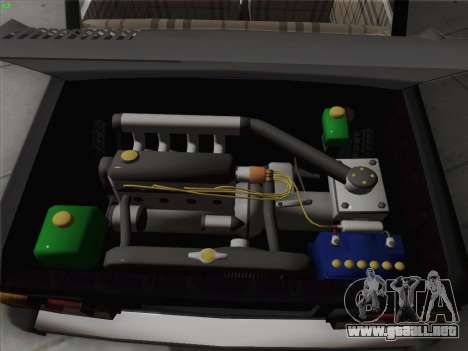 ZAZ 968 para la vista superior GTA San Andreas