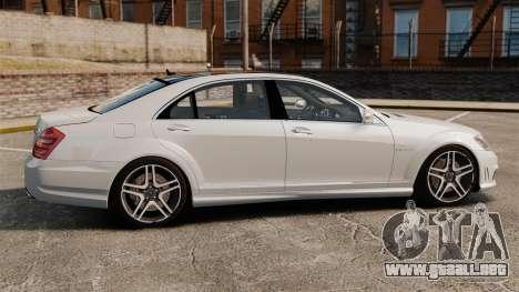 Mercedes-Benz S65 W221 AMG Stock v1.2 para GTA 4 left