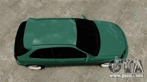Honda Civic Al Sana para GTA 4 visión correcta