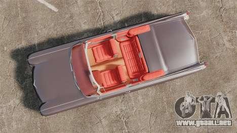 Cadillac Eldorado 1959 v1 para GTA 4 visión correcta